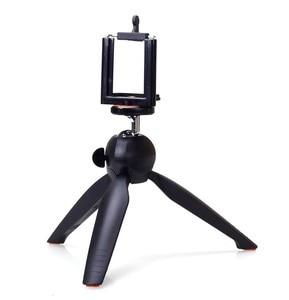 Image 1 - Photo YT 228 YUNTENG 228 Mini Tripod+Phone Holder Clip Desktop Tripod Digital Camera phone DV Gopro