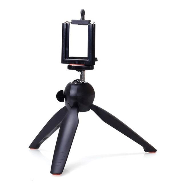 Photo YT 228 YUNTENG 228 Mini Tripod+Phone Holder Clip Desktop Tripod Digital Camera phone DV Gopro