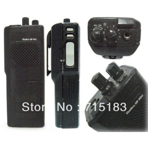 Free Shipping Hot Sale MOTOLA GP300 VHF/UHF Protable Two-way Radio Transceiver Walkie Talkie