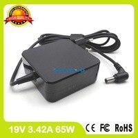 19 V 3.42A AC Güç Adaptörü Için Asus laptop şarj cihazı X550EA X550EP X550LA X550LB X550LC X550LD X550LN X550MD X550MJ X550VC AB fiş