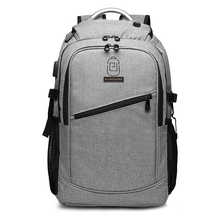 New USB Charging Laptop Backpack 15.6 Inch Daily Work Backpacks Men Vintage Schoolbags School back pack Male Travel Mochila - DISCOUNT ITEM  49% OFF Luggage & Bags