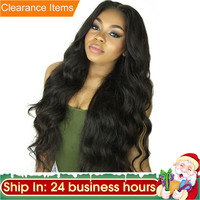 Carina Brazilian Natural Glueless Long Premier Full Boby Wave Lace Front Human Hair Wigs For Black Women With Baby Hair For Sale