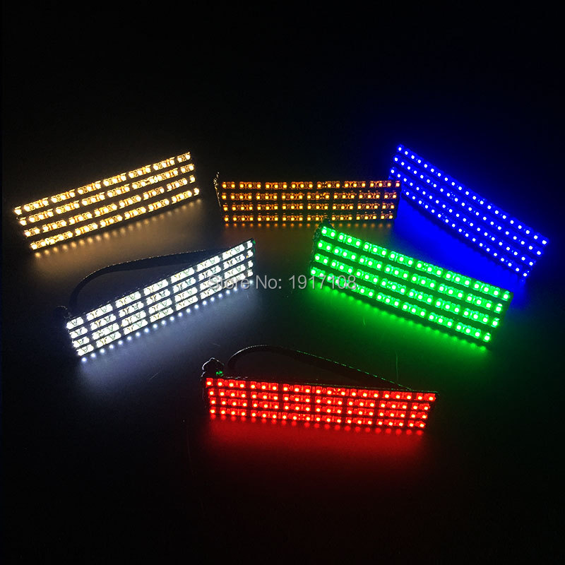 Wholesale 10 pcs 12V led glasses reading Light up Party Glasses Supplies Dancing Club Stage Props Christmas Lighting Glasses
