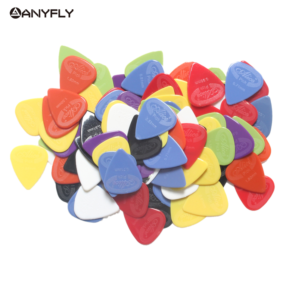 30 pcs Guitar Picks Alice AP-30G Acoustic Electric Plectrums(Thickness Assorted) Wholesales Free Shipping