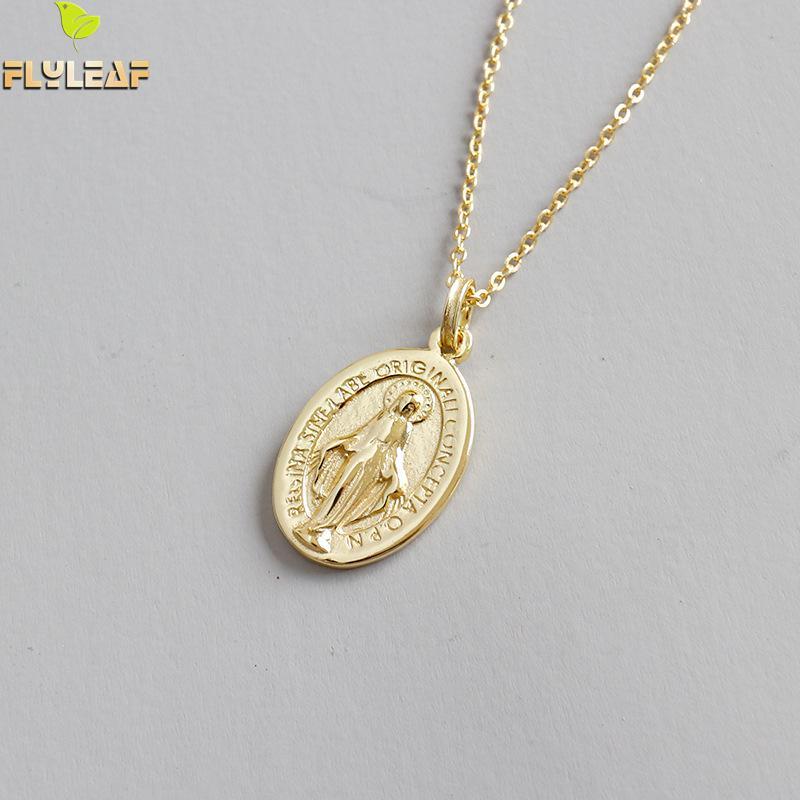 Купить женское ожерелье и кулон flyleaf с золотистыми бусинами девы