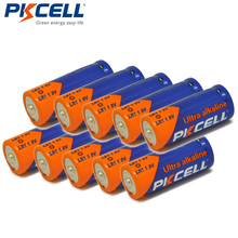 10 X PKCELL LR1 Alkaline Batteries SIZE N E90 MN9100 910A 1 5V Single Use Dry Batteries For Sperker Bluetooth Players cheap Alkaline Battery 85min N Size Guangdong China (Mainland) 12 0mm*30 2mm