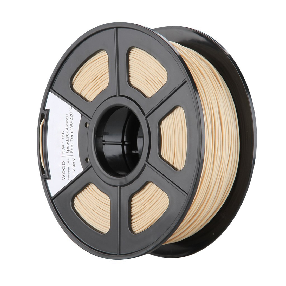 1.75mm/3mm Wood 3D Printer Filament 1kg Spool 2.2 lbs Dimensional Accuracy +/- 0.03mm for Print RepRap MarkerBot 3D Printing Pen 3d printer filament 1 75mm 3mm abs conductive color change pa nylon flexible 1kg 2 2lb for reprap markerbot