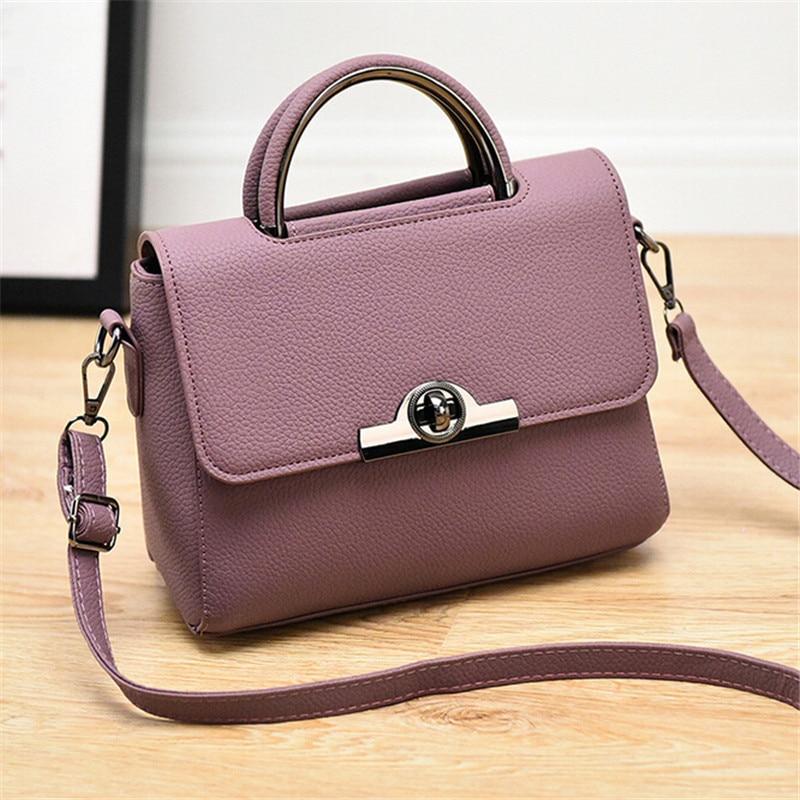 купить 2016 New winter tide female bag ladies handbag trend Messenger shoulder handbag Korean version of multi-functional free shipping недорого