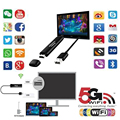 5G Wireless Display Receiver Dongle Miracast Airplay Dlna HDMI Wifi Mirror Chrome Cast Netflix TV Stick For Android IOS Windows