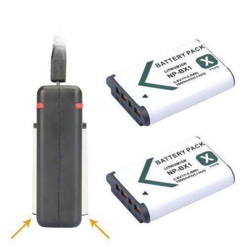 2x NP-BX1 НП BX1 Батареи AKKU + USB Двойной Зарядное Устройство Для sony hdr-as200v as20 as15 dsc-rx100 as100v x1000v wx350 rx1 rx100 rx100ii