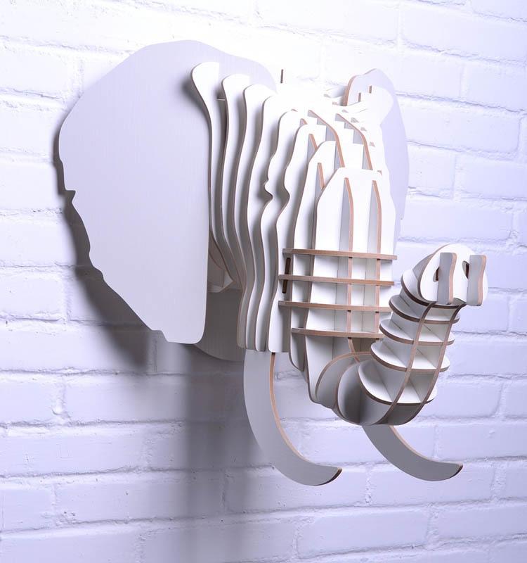 NODIC fil sənətkarlıqları, ev dekorasiyası üçün taxta fil - Ev dekoru - Fotoqrafiya 1