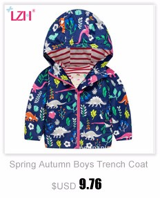 e8ce0101e540 LZH Baby Girls Jacket For Girls Windbreaker Raincoat Coat Kids ...