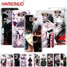 HAMEINUO Tokyo Ghoul font b anime b font Kaneki Ken case phone cover for LG G7