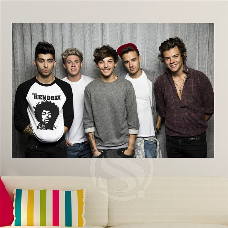 Creative Art Custom One Direction Canvas Fabric Poster Home Decor Poster Print