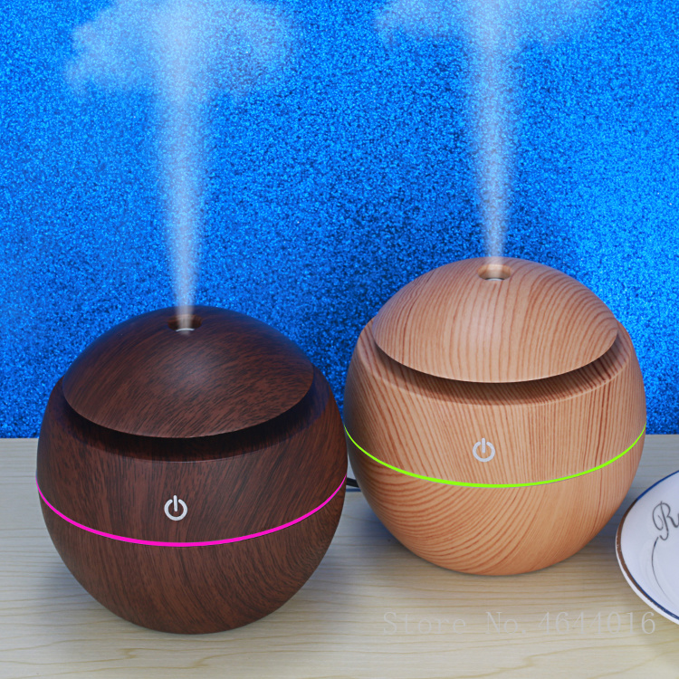 130ML Air Ultrasonic Humidifier with LED Light Lamp Cup Air Freshener Aromatherapy Essential Oil Aroma Diffuser for Home Car130ML Air Ultrasonic Humidifier with LED Light Lamp Cup Air Freshener Aromatherapy Essential Oil Aroma Diffuser for Home Car