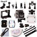 Новые Поступления Ультра HD 4 К Wi-Fi Камера Спорта 1080 P 2.0 ЖК 170D объектив Шлем go pro Камеры Под Водой водонепроницаемый DVR85H-3132