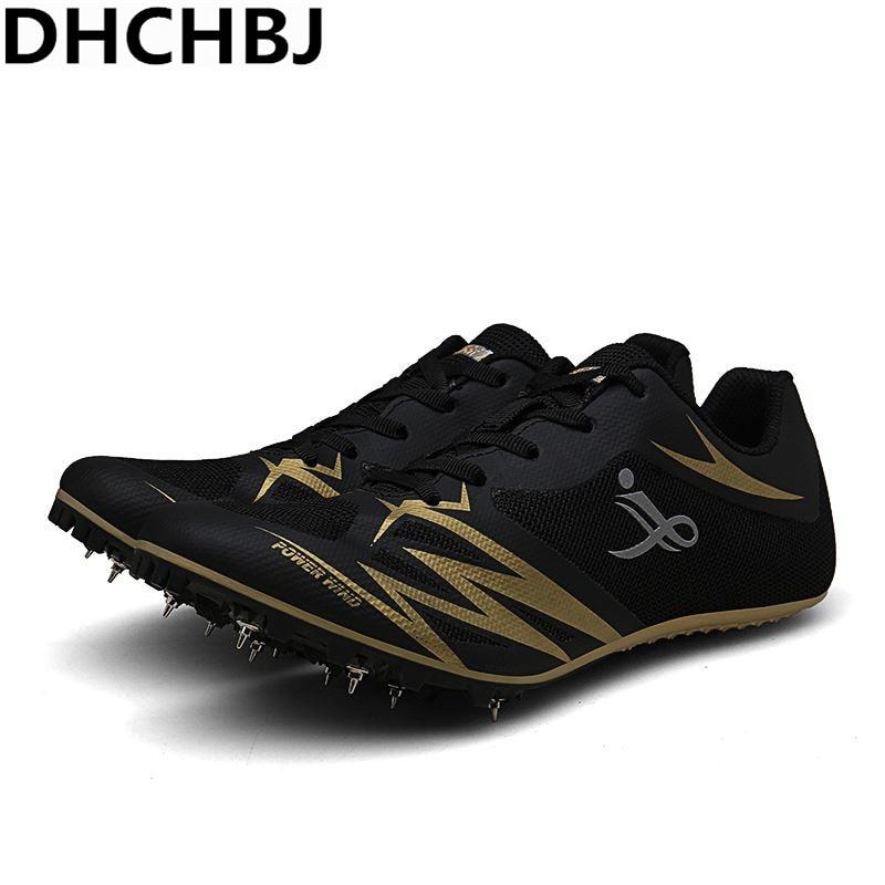 Nouveau Cool unisexe pointes chaussures athlétisme course pointes hommes femmes piste et champ pointes Feiyue chaussures anti-dérapant chaussures hommes santé