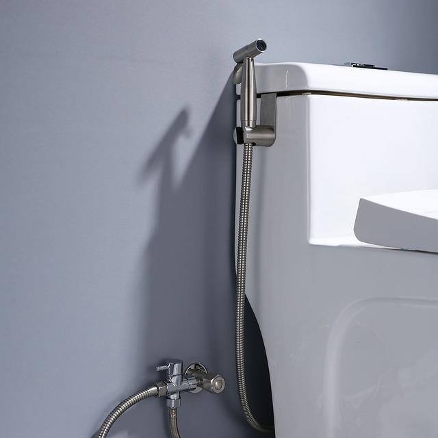 The Dependable Handheld Toilet Bidet Sprayer Stainless Steel Sets