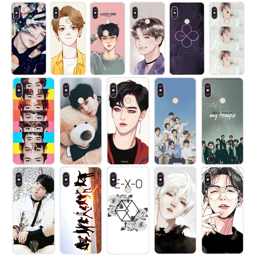 148 ZX <font><b>Kpop</b></font> exo Lucky one TPU Soft Silicone Phone <font><b>Case</b></font> for Xiaomi <font><b>Redmi</b></font> <font><b>Note</b></font> 4 4X 5 <font><b>7</b></font> 6 pro plus a2 lite Cover image