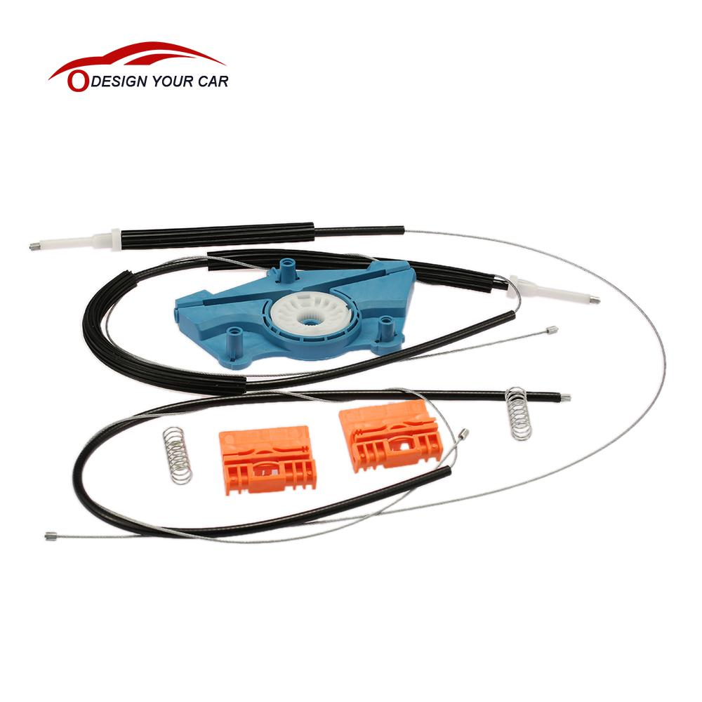 Front right window regulator repair roller cable kits for for 2000 audi a4 window regulator replacement