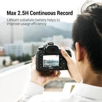 Ugreen LP-E6 Camera Battery 1865mAh for Canon LP E6 EOS 5D Mark 4/3/2 60D 5D4 70D 6D 6D2 5D2 7D 7D2 80D 5DS Camera Batteries 2