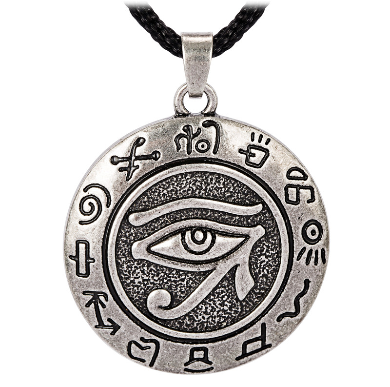 Trendy religious egyptian eye of ra horus udjat necklace in pendant trendy religious egyptian eye of ra horus udjat necklace in pendant necklaces from jewelry accessories on aliexpress alibaba group aloadofball Choice Image