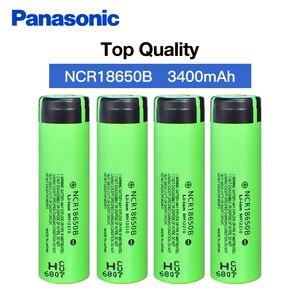 Image 4 - 100% Nieuwe Originele NCR18650B 3.7 v 3400 mah 18650 Lithium Ion Oplaadbare Batterij Voor Panasonic Zaklamp Batterijen
