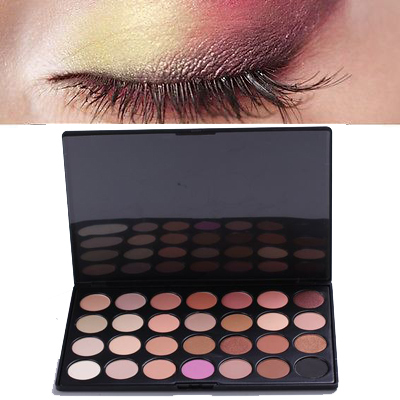 PRO 28 Colors Neutral Nude Warm Eyeshadow Palette Makeup Cosmetic Beauty maquiagem naked basics paleta de sombra sombra  M613