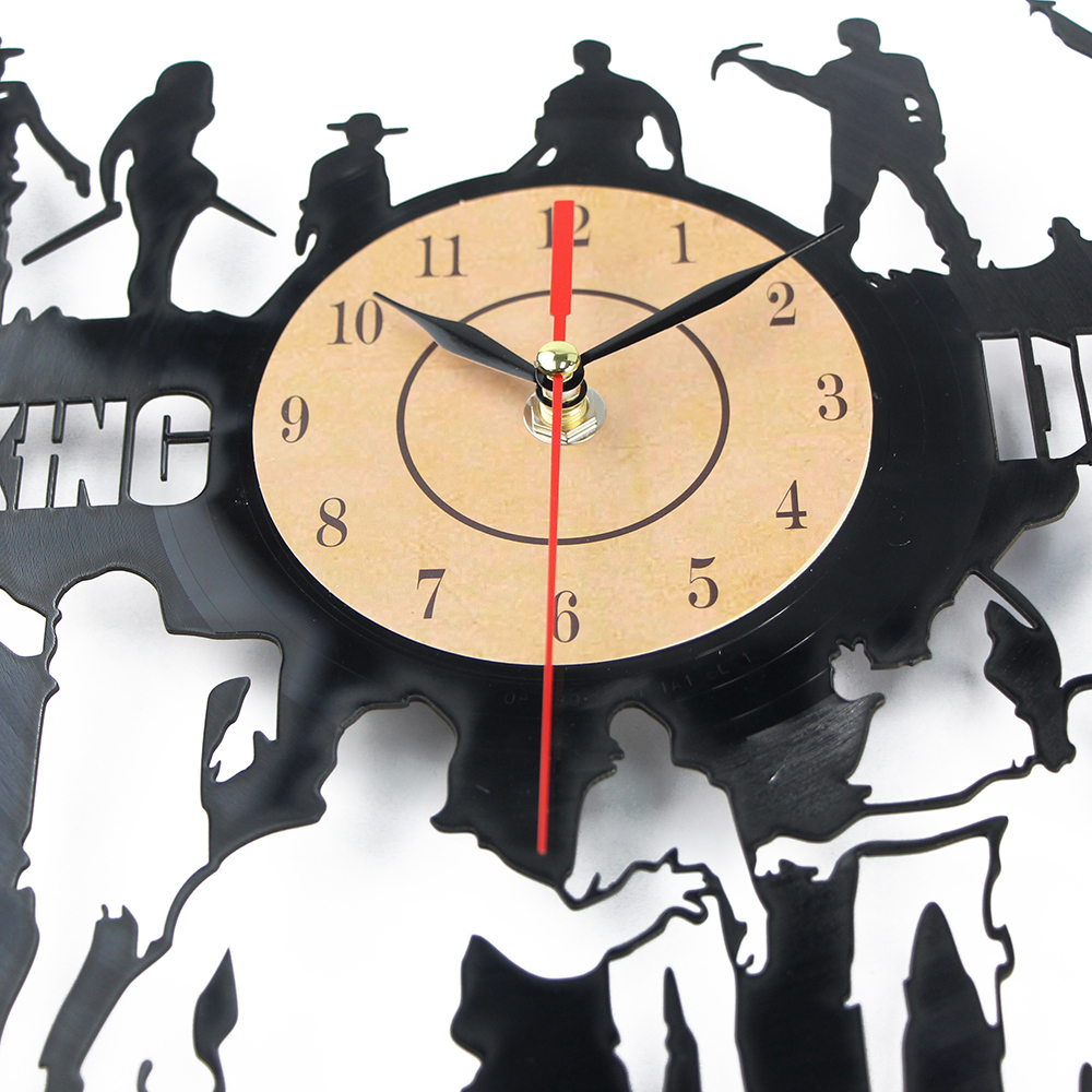 Wholesale CD Vinyl Record Wall Clock Modern Design Movie Home ...