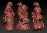 Neue 3D modell für cnc 3D geschnitzte abbildung skulptur maschine in stl-format nackt woman-7 (sexy frau)