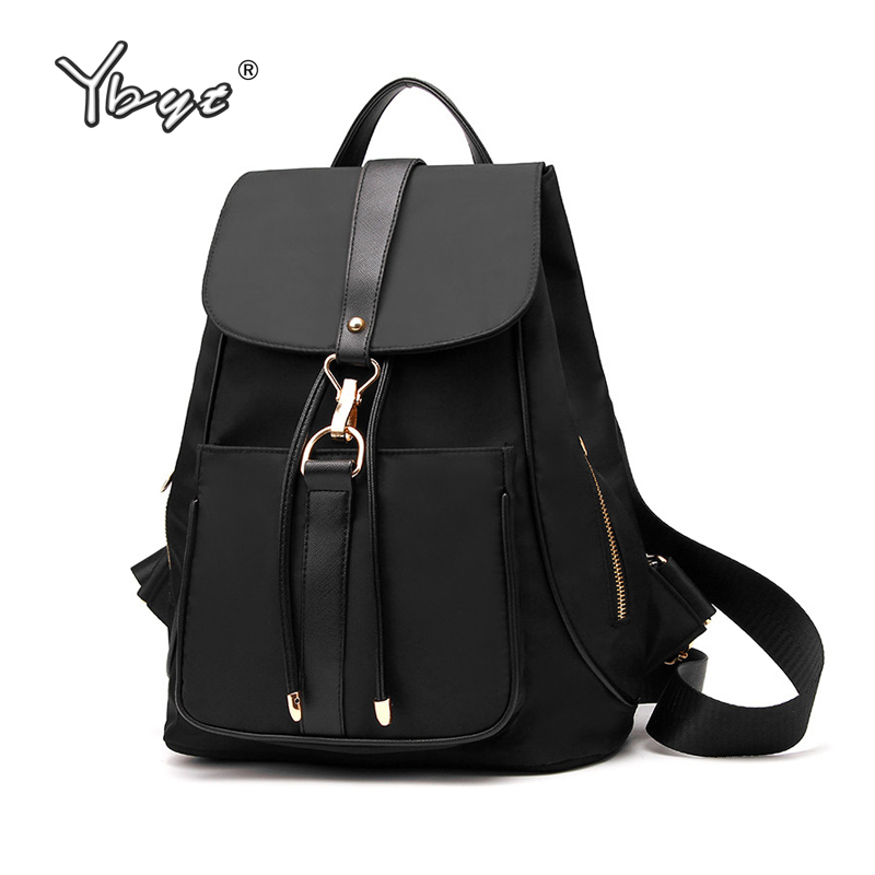 YBYT brand 2017 new fashion preppy style oxford women rucksack horsale ladies travel bags waterproof  student school backpacks preppy style brand new design women fashion backpacks vintage rivet leather waterproof shoulder bags travel escolar bolsas cc28