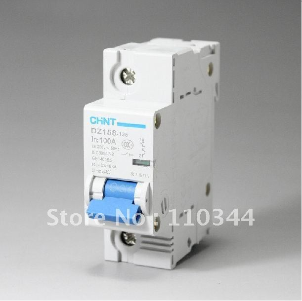FreeShipping:CHINT DZ47-60 household circuit breaker  1P 10A 16A 20A 25A 32A air switch MCB wholesale Promotion