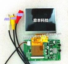 3.5 pulgadas LQ035NC111 pantalla LCD + Digital ocm tablero de conductor del monitor de buscador de los accesorios / accesorios