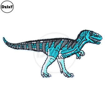 Velociraptor Dinosaur Patches for Jean Jacket
