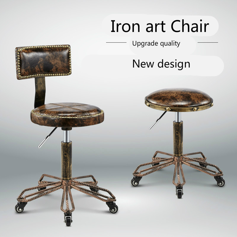 Astounding New Perfect Quality Classic Leather Stools And Get Free Short Links Chair Design For Home Short Linksinfo