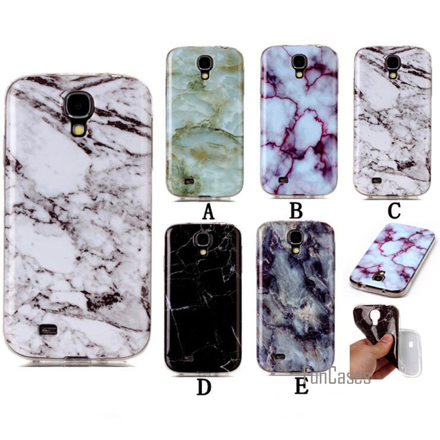 purchase cheap 990ea bfb6d US $3.14 37% OFF|For Samsung S4 Case TPU Marble Pattern Dirt Resistant Back  Protective Cover Phone Bags Cases For Samsung Galaxy S4 I9500 5.0-in ...