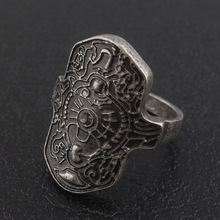 Dark Souls 3 Ring of Steel Protection High Quality Cosplay Rings for Women Men Jewelry