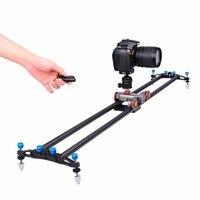 Ulanzi yelangu L80T 80 см Камера Видео слайдер углерода Волокно DSLR видео Камера трек слайдер Долли стабилизатор для Canon Nikon sony