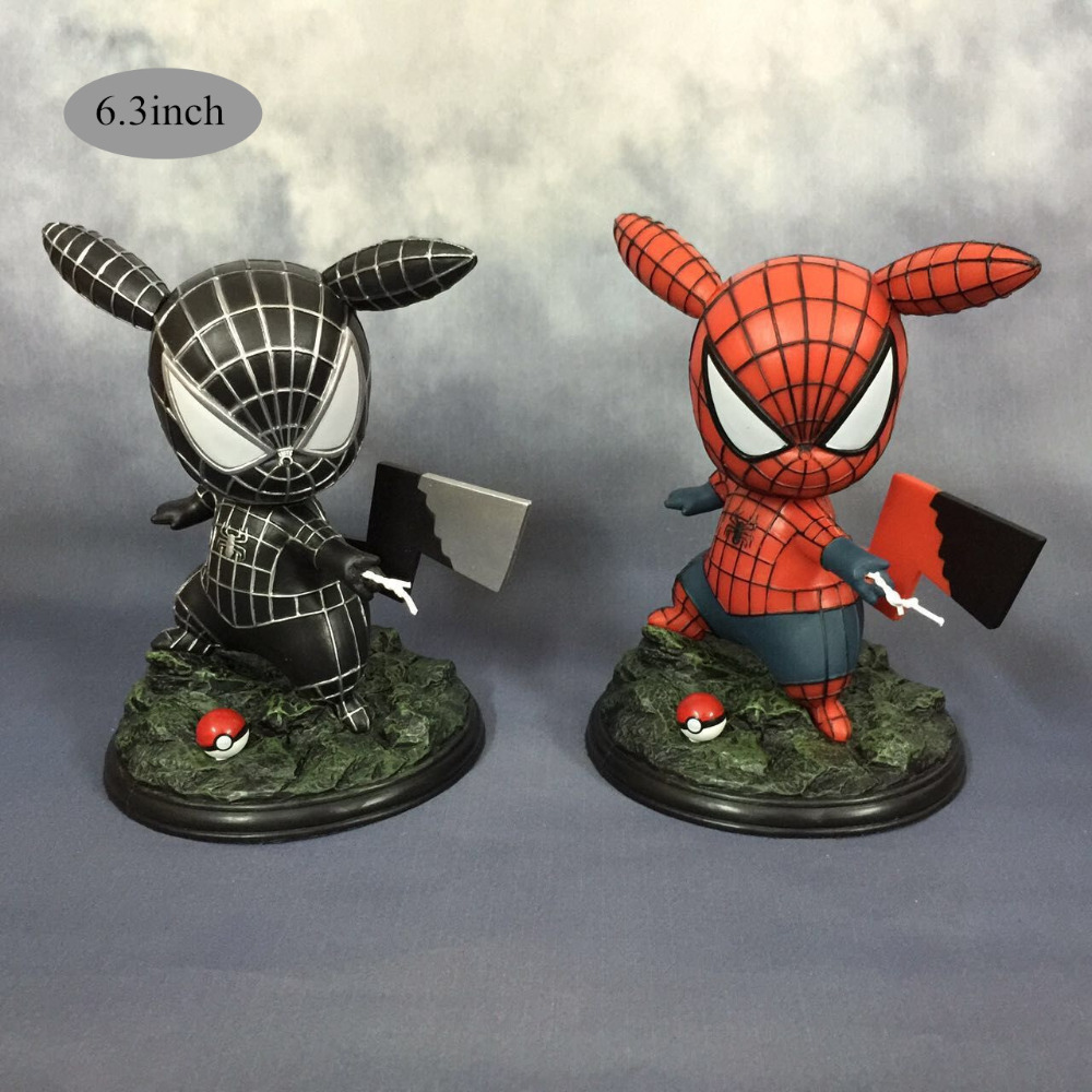 compare prices on spiderman 3 car online shopping buy low price anime cartoon figure pikachu cos spiderman action figures doll model toys car home decor gifts top