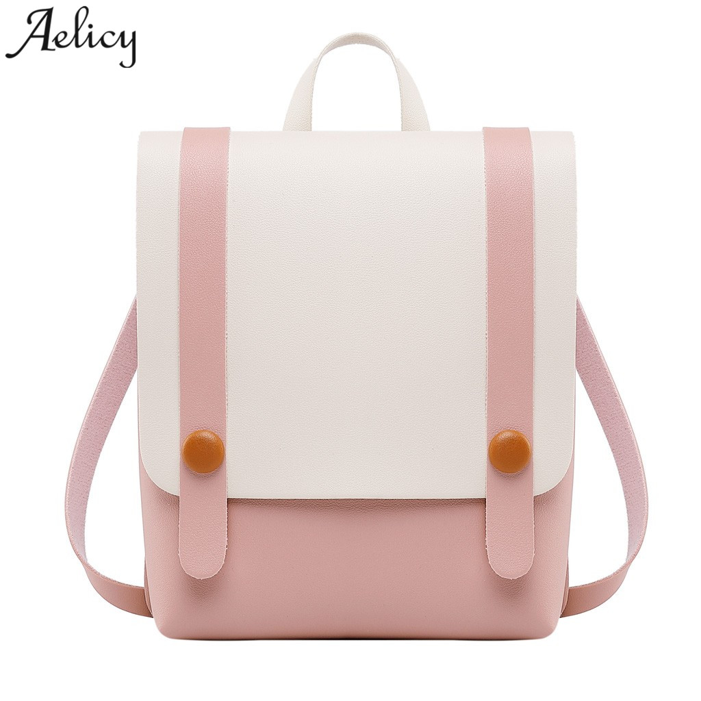 Aelicy New Designer Fashion Women Backpack Mini Soft Touch Multi-Function Small Backpack Female Ladies Shoulder BagAelicy New Designer Fashion Women Backpack Mini Soft Touch Multi-Function Small Backpack Female Ladies Shoulder Bag