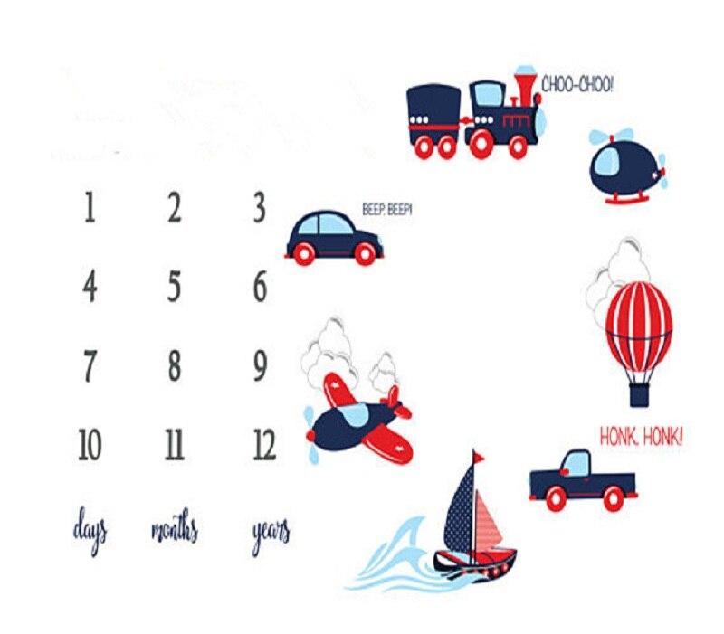 HTB1Q0UeX5frK1RjSspbq6A4pFXah Cartoon Pattern Infant Baby Milestone Photo Props Background Blankets Play Mats Backdrop Cloth Calendar Photo Accessories Nordic