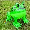 O envio gratuito de 10 pçs/lote moda Animal Inflável Grande Sapo Crianças Praia Brinquedo Brinquedo de Água de plástico Ao Ar Livre