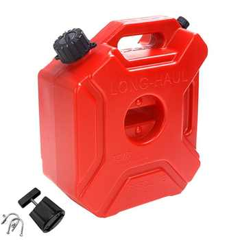 5L Fuel Tank Cans Spare Plastic Petrol Tanks Mount Motorcycle/Car Jerrycan Gas Can Gasoline Oil Container Fuel-jugs Accessory