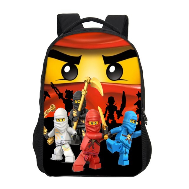 VEEVANV Anime Cartoon Movie Lego Ninjago Pattern Backpacks For Boys Girls  School Bookbag Casual Daily Backpacks 927b1f379cd75