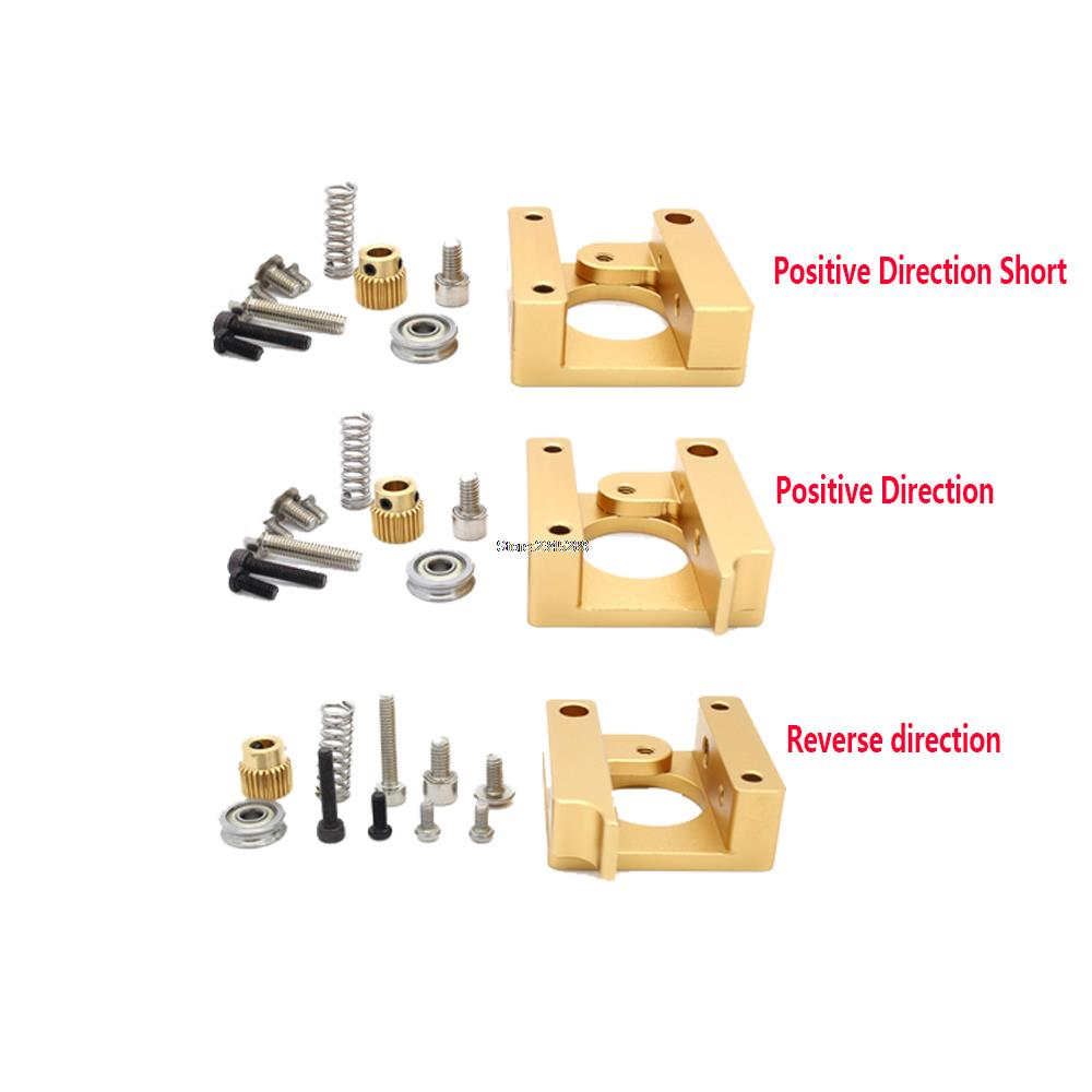 1set 3D printer accessories MK8 extruder aluminum block DIY kit Makerbot dedicated single nozzle extrusion head aluminum block