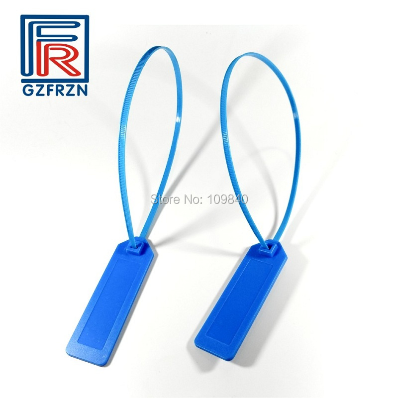 100pcs/lot UHF Epc C1 Gen2 RFID Container E Locker Seal Tag Zip Tie Plastic Security Tag Label One-time Use For Tracking