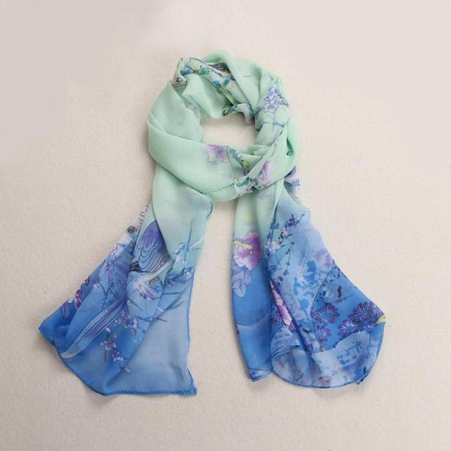 Magpie Shading Chiffon Scarf | Lightweight Scarves | Up to 60% Off Now