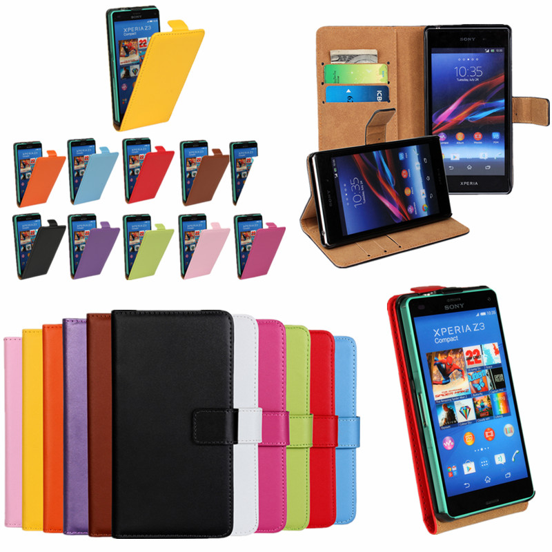 Flip Cover Case For Sony Xperia...