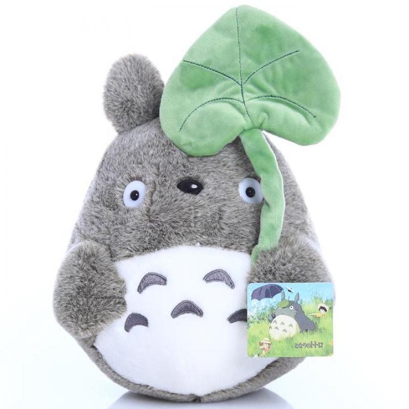 Lucu Kartun Film My Neighbor Totoro Cat Dengan Daun Teratai 25 Cm