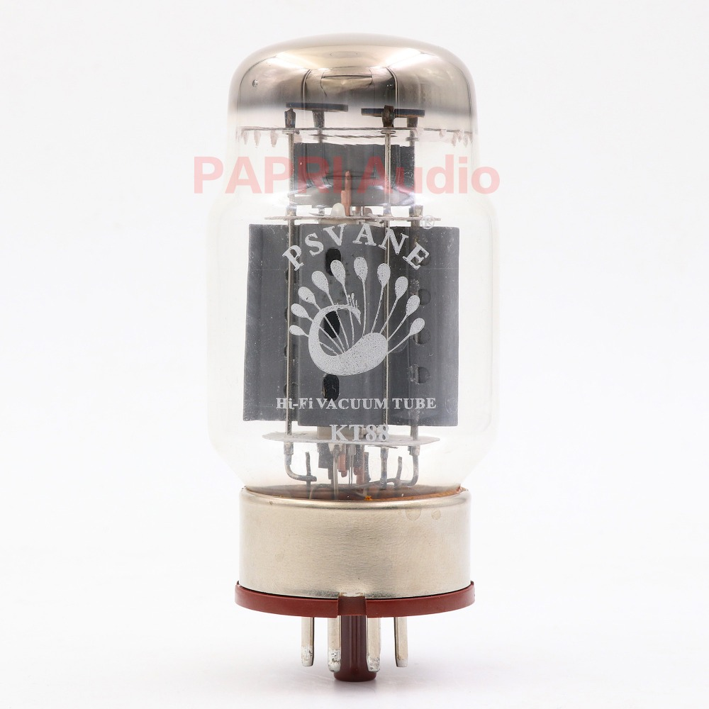 PAPRI 1PCS PSVANE KT88 HIFI Vacuum Tube New Treasure Tube Matched Pair Reference 1pair psvane hifi kt88 vacuum tube vintage hifi diy replace jj eh genalex tung sol shuguang kt88 el34